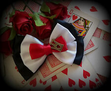 The Queen of Hearts_Hair Bow_Costume_Ribbon_Alice in Wonderland_Disney Inspired