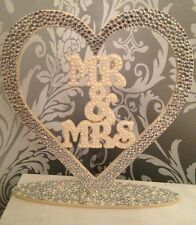 Mr and Mrs wedding sign. Top table wedding cake table mr and mr mrs and mrs