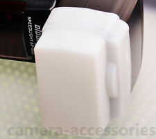 White Flash Dome Diffuser for Neewer / Godox TT520 Sony F42AM F58AM Speedlite