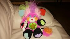 VINTAGE 1986 Popples Rock Star PUNKITY Pink with Microphone RARE!