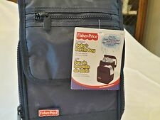 NEW FISHER-PRICE Unisex Insulated Baby's Bottle Bag Navy Blue Lunch bag