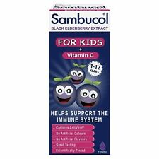 Sambucol for Children Black Elderberry Extract immune Vitamin Supplements