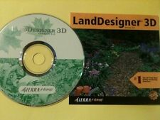 LandDesigner 3D Version 5.0 PC 2000 Sierra Windows 95/98/XP/7 FREE Shipping