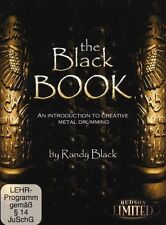 Randy Black Introduction To Creative Metal Drumming Learn Play Drums Music DVD