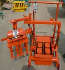 Concrete Blocks Making Machine Movable Cement Bricks Machinery Shipped by Sea