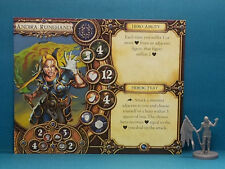 Andira Runehand (old version hero) Descent: Journeys in the Dark miniature