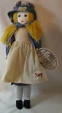 VINTAGE Little House on the Prairie Mary Ingalls Rag Doll