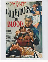CORRIDORS OF BLOOD signed 10x8 YVONNE ROMAIN as ROSA
