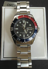 SEIKO 5 SPORTS MENS AUTO WATCH SNZF15 - SEA URCHIN / PEPSI BEZEL - NEW WITH BOX