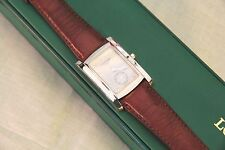 Men's Luxury Longines DolceVita Stainless Steel Watch - Leather Band - With Box
