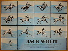 2012 Jack White - Asheville Silkscreen Concert Poster by Rob Jones S/N