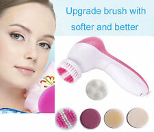 5-1 Multifunction Electric Face Facial Cleansing Brush Spa Skin Care massage LN