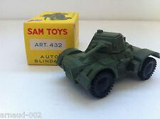 Sam Toys - 432 - Auto blindata AML en plastique + boîte d'origine (1/43 environ)