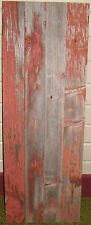 ANTIQUE RUSTIC RED BARN WOOD SIDING WEATHERED OLD BARN BOARD RECLAIMED LUMBER