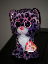 """Ty Beanie Boos ~ JEWEL the 6"""" Leopard ~ 2015 NEW ~ Justice Exclusive ~ IN HAND"""