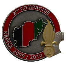 INSIGNE 2 REG 2 CIE - TF BLACK ROCK - NUMEROTE - FRENCH FOREIGN LEGION ETRANGERE