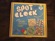 Spot the clock game by ideal