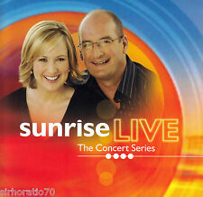 SUNRISE LIVE The Concert Series OZ CD 2006 New / INXS Darren Hayes John Farnham