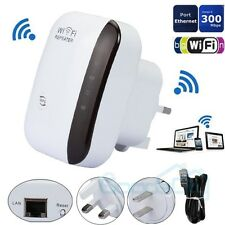 300Mbps 802.11 Wifi Repeater Wireless-N AP Range Signal Extender Booster US Plug