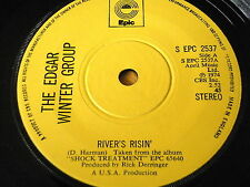 "THE EDGAR WINTER GROUP - RIVER'S RISIN'    7"" VINYL"