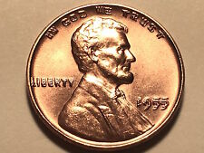 1955 Doubled Die Lincoln Cent * Gem Bu Red * Great Mint Luster