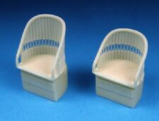 Barracuda 32234 x 1/32 WWI British Wicker AGS Aircraft Seats No Belts