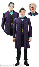 "Dr Who 5"" Time of The Doctor Action Figure Set New 1 Figure 2 Extra Heads U Toys"