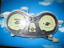 NEW SCOOTER CLOCKS SPEEDO RPM PETROL GAUGE CREAM FACE