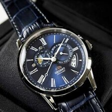 ORIENT FET0T004D0. SUN AND MOON. Sapphire. Automatic. 5 ATM. New!