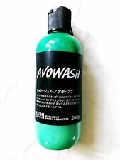 Lush Cosmetics Japan Kitchen - AVOWASH Shower Gel 8.9 oz - Lemongrass Rare!