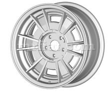 "Ferrari 206 246 GT GTS Silver Cromodora Style 14"" Spinner Wheel Set 4 Pcs New"