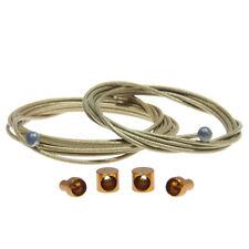 KCNC Nano-Diamond MTB/Road Bike Teflon Coating inner Brake Titanium Cable - Gold