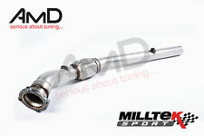 "Milltek Sport AUDI TT 1.8T Decat Largebore Downpipe De Cat 3"" MK1 FWD ONLY"