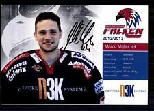 Marco Müller Heilbronner Falken 2012-13 Foto Eishockey +A 75977