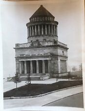 1930 GRANT'S TOMB UPPER WEST SIDE MANHATTAN NEW YORK CITY WIRE PHOTO 8 X 10