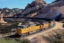 543070 l'Union Pacific charbon train escalade Cajón pass ca A4 papier photo