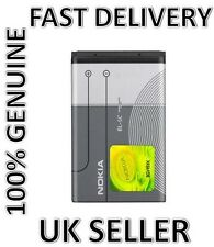 NEW GENUINE BL 5C BATTERY FOR NOKIA FOR 1100 1600 2300 6230 6630 6680 3100 6230i