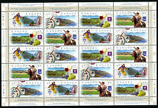 Canada  1997 -  Scenic Highways  - souvenir sheet   -  MNH
