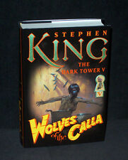 Stephen King - Dark Tower 5 - Wolves - Bernie Wrightson art 2003 HC 1st w/VFn dj