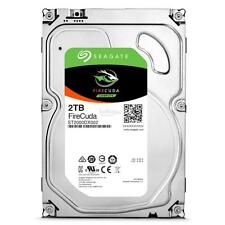 """Seagate 2TB ST2000DX002 3.5"""" SSHD FIRECUDA Drive SATA 6GB/s WITH 5 YR WARRANTY"""