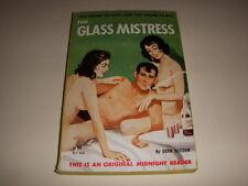 GLASS MISTRESS by DEAN HUDSON, Midnight Reader #MR464, GGA, 1962, Vintage PB!