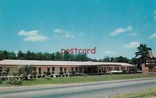 c1950's AZTEC MOTEL North Orangeburg SC, Walter & Marion Heller mgrs
