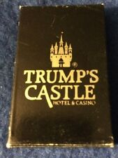 DONALD TRUMP'S CASTLE CASINO HOTEL Atlantic City NJ KEY RING GOLD NEW FREE SHIP