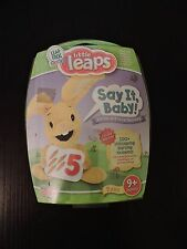Little Leaps Say It Baby Verbal Vocal Toy Language Skills NEW 9 Months