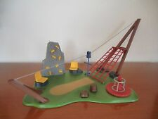Playmobil 4015 Aktiv Spielplatz mit Seilbahn und Kletterwand, ohne Figuren