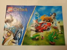 LEGO Instruction Notice CHIMA CHI Battles (70113)