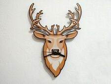 Hipster Brown Deer - Wall Clock