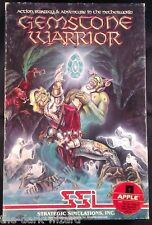 Gemstone Warrior - Apple II - SSI  CIB 1984