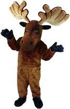 Moose Professional Quality Lightweight Mascot Costume Adult Size