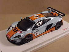 TrueScale 1/43 Resin McLaren MP-4-12C GT3, 2012 Spa 24 Hrs., Gulf #9  #TSM134331